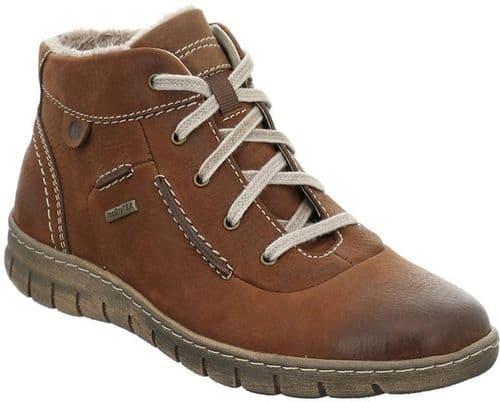 Josef Seibel Steffi 53 Ladies Ankle Boots Brown / Cognac